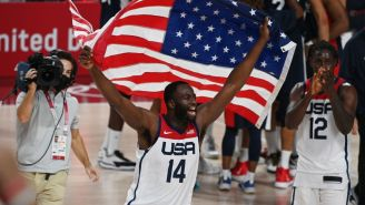 Draymond Green Uncovers Old Tweets From Sports Reporters Who Said Team USA Weren't Going To Win Gold Medal At Olympics