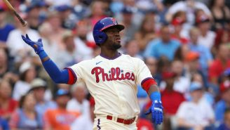 WATCH: Odubel Herrera Embarrassingly PIMPED A Home Run That End Up Being A Flyout