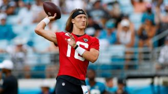 Trevor Lawrence Made A Ridiculous Throw At Training Camp And No One Is Surprised By His Greatness