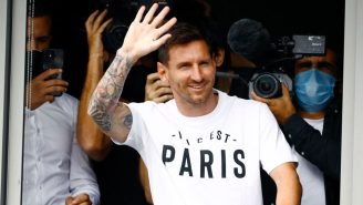 Lionel Messi Looks Super Weird In A PSG Jersey, Turned Down Neymar's Offer To Wear No. 10
