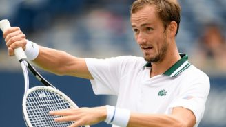 Daniil Medvedev Threw A Hilarious Fit Because He Lost A Point For Apologizing To His Opponent