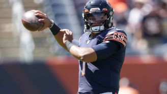 Bears Fans Already Want Justin Fields To Be Named The Starter Over Andy Dalton After Impressive Preseason Game