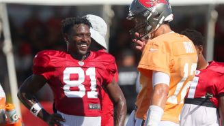 Antonio Brown Kicked Out As Titans/Buccaneers Joint Practice Turns Into Fight Club