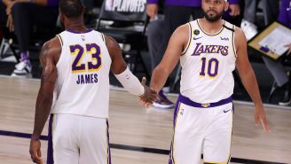 An Upset LeBron James Curses On Twitter After Learning Teammate Jared Dudley Is Leaving Lakers To Take Mavs' Coaching Job