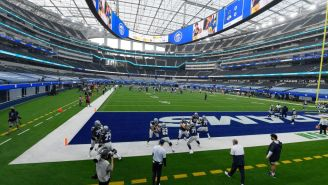 Things Get Heated Between Cowboys And Rams As Massive Brawl Breaks Out In Practice, Tony Polllard And Kenny Young Exchange Punches