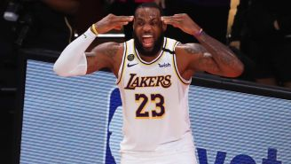 LeBron James Has A Message For The Haters Saying The Lakers Are Too Old To Compete For A Championship