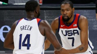Draymond Green Finally Told The Story Of Why Team USA Sang 'Happy Birthday' To Kevin Durant At The Opening Ceremonies