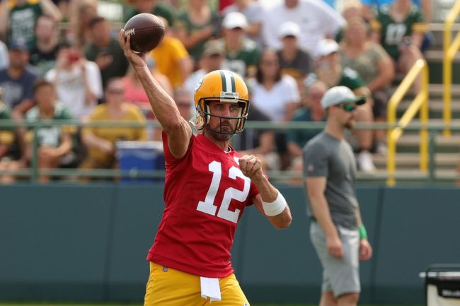 Green Bay Packers Training Camp Aaron Rodgers