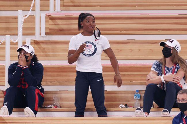 Simone Biles USA Gymnastics Olympics Tokyo
