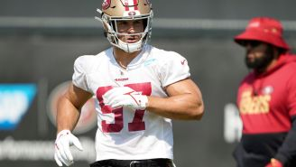 Nick Bosa's Instagram Model GF Deletes Twitter Account After Old Problematic N-Word Tweets Resurface
