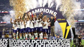 The USMNT Celebrated The Gold Cup By Chugging Beers From The Trophy, Partying In Vegas Despite Youthful Roster