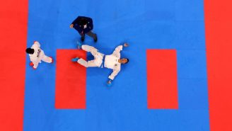 The Olympic Silver Medalist In Karate Landed A Vicious Head Kick KO But Was Disqualified From The Match, Lost Gold