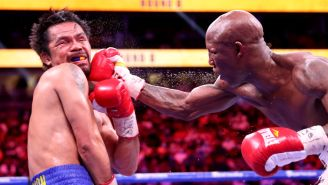 Manny Pacquiao Had To Be Spoon-Fed, Couldn't Open His Eyes After Getting Beat Up By Yordenis Ugas