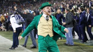 Notre Dame Wants To Be Very Clear That Its Mascot Is NOT Offensive, Points Fingers At Other Schools