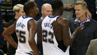 Draymond Green Publicly Bashes Warriors Coach Steve Kerr And GM Bob Myers For How They Handled Kevin Durant Situation