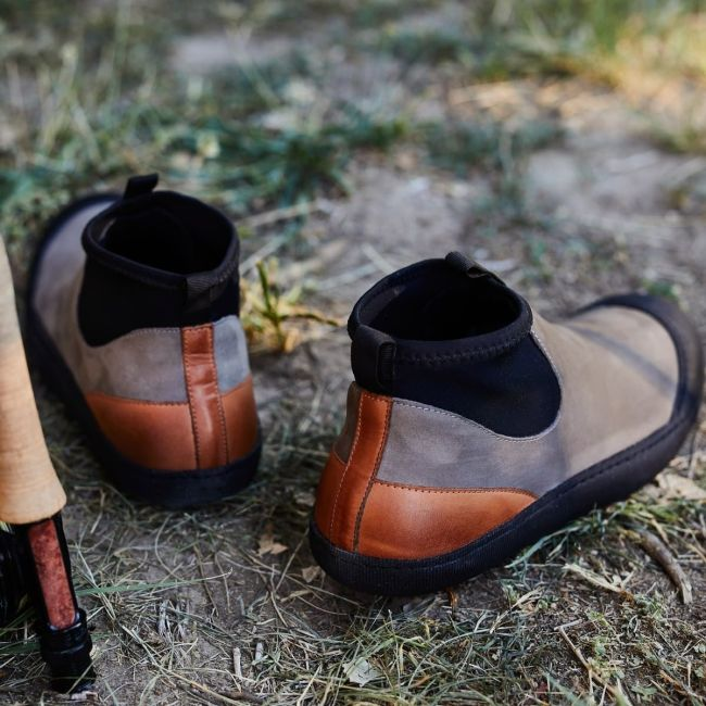 Greys Camp Slipper Boot