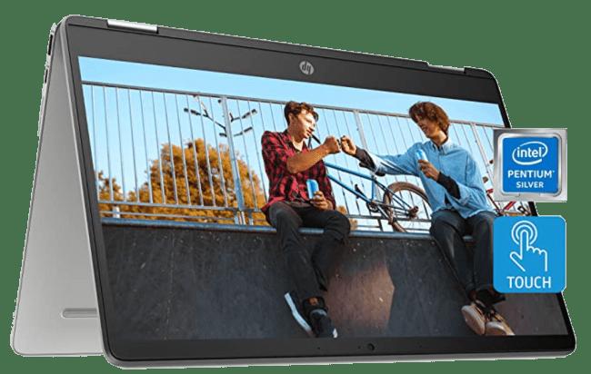 HP Chromebook x360 14a 2-in-1 Laptop