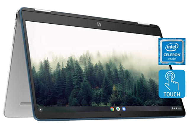 HP Chromebook x360 14a Laptop