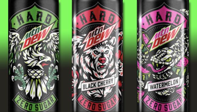 hard mountain dew alcohol