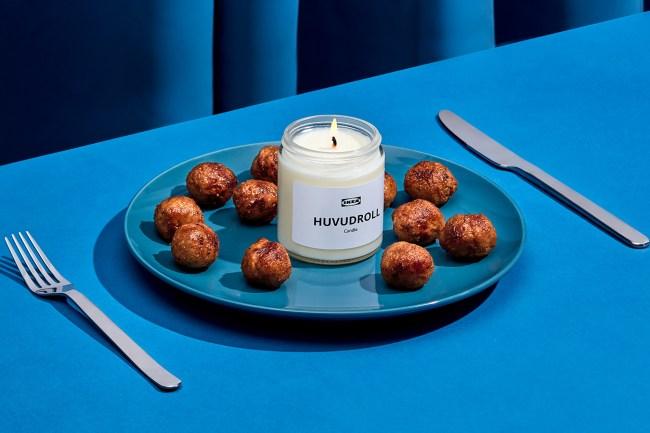 IKEA swedish meatballs scented candle