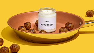 Want Your Home To Smell Like Swedish Meatballs? IKEA's New Candle Has You Covered