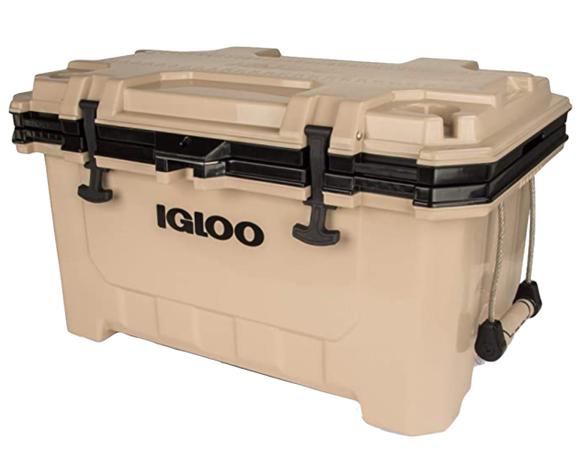Igloo IMX 70 Quart Lockable Insulated Ice Chest Cooler