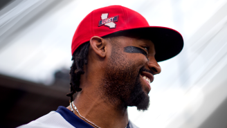 Angels Outfielder Jo Adell Had The Best Response To Accidentally Ruining A Fan's Drink