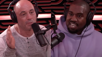 Joe Rogan Says Kanye West Wanted To Redesign His Entire Studio Before Being Interviewed And Had Some Predictably Absurd Suggestions