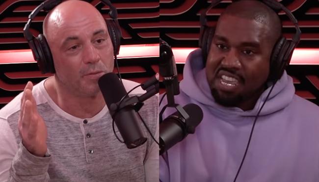 Joe Rogan Kanye West studio redesign