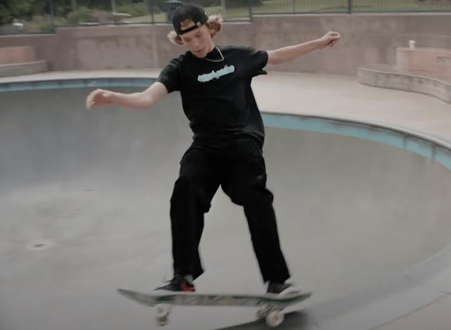 Keegan Palmer Olympics skateboarding training regimen
