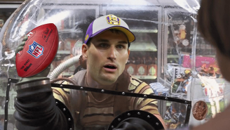 Kirk Cousins Has Thought About Surrounding Himself With Plexiglass To Protect Himself From The Virus
