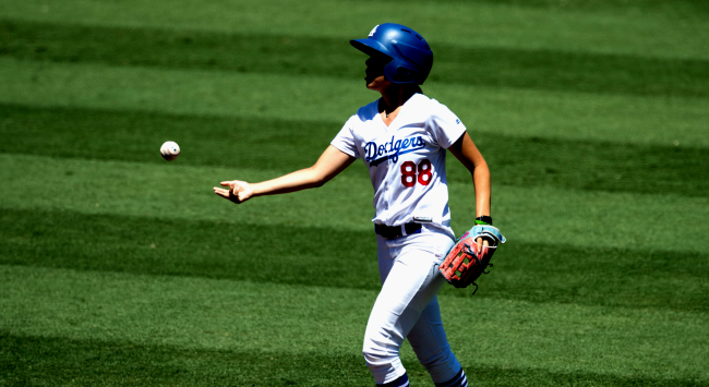 Marissa Rohan Is The Los Angeles Dodgers Ball Girl Who Tackled A Fan