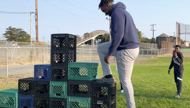 what is Milk Crate Challenge origins explained