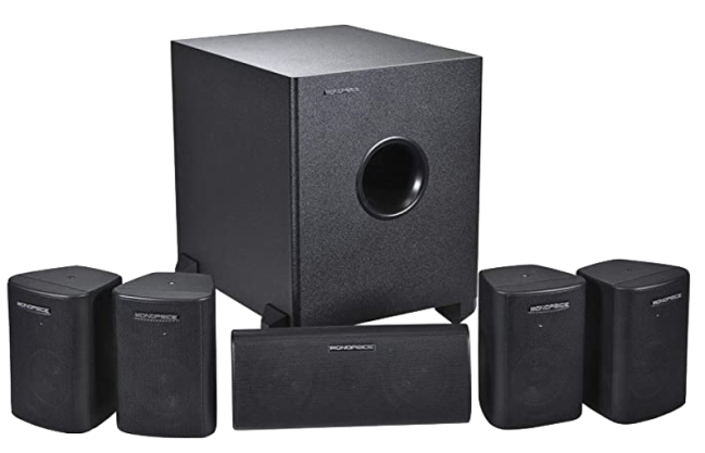 Monoprice 5.1 Channel Home Theater Satellite Speakers