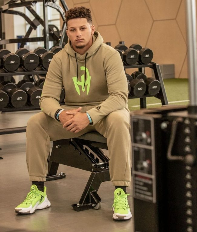 Patrick Mahomes Releases His Latest Collection With Adidas