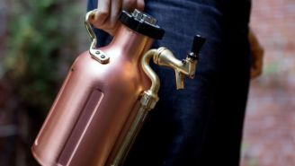 Bring Your Best Brews On The Go With This Portable Copper Growler