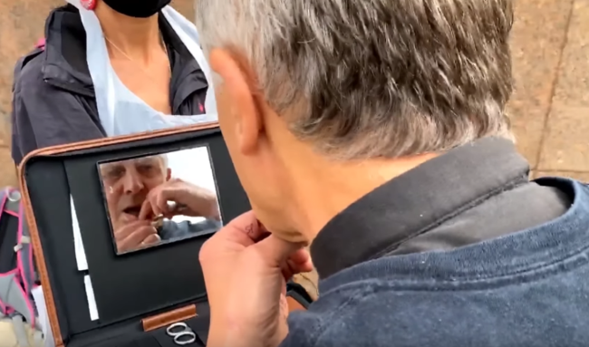 Priest Sews His Lips Shut To Protest The Terrible Havoc Caused By Rupert Murdoch