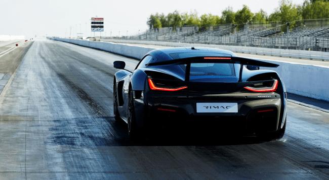 Rimac Nevera Beats Production Car Speed Record Tesla Model S Plaid