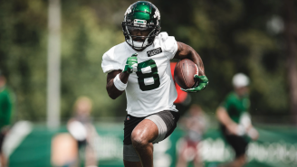 New York Jets Rookie Wide Receiver Elijah Moore Already Has The Entire NFL On Skates