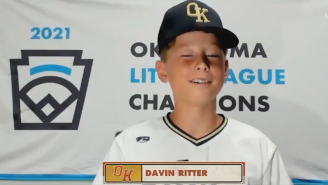 This Little Leaguer Shouted Out His Girlfriend During Player Intros And Was Definitely Talking To Multiple Girls