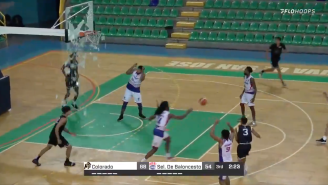 This College Basketball Player Shattering A Backboard And Missing The Dunk Is Truly Embarrassing