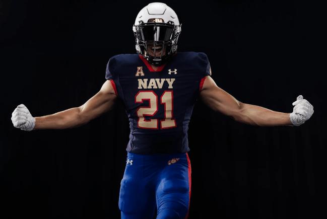 USMC Navy Football Uniforms