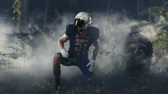 Navy Football Unveiled Remarkably Beautiful Uniforms For Its 9/11 Game Against Air Force