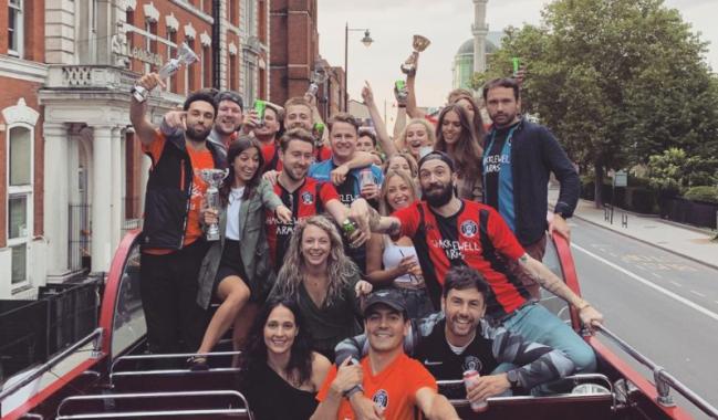 Judas FC Soccer Team East London Parade