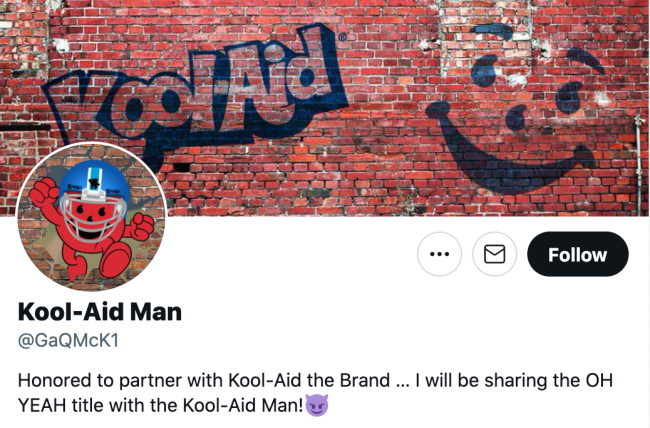 Kool-Aid McKinstry Twitter