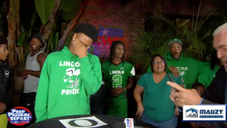 WATCH: Recruit's Dad Calls Son 'Lazy,' Accidentally Spoils Commitment Announcement