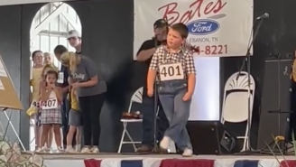 WATCH: Husky Boy In Overalls Cuts A Rug, Wins Tennessee State Fair Clogging Championship