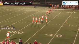 This Onside Kick Attempt Might Be The Worst Of All-Time And College Football Is SO Back