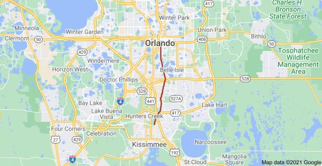 Orange Avenue Florida