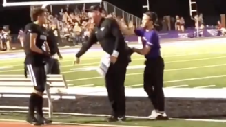 Trent Dilfer LOST HIS MIND On One Of His High School Football Players During A Blowout Win